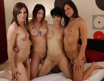 Bande de transexuelles pour orgie hot à Mérignac